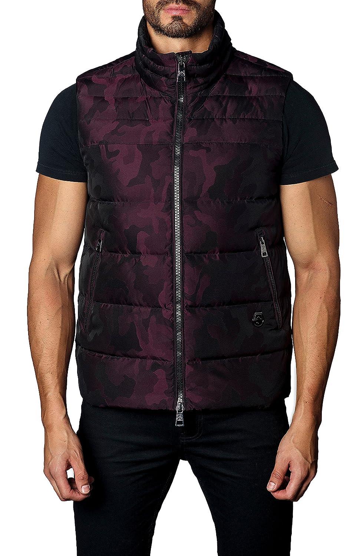 [ヤレドラング] メンズ ジャケットブルゾン Jared Lang Camo Down Puffer Vest [並行輸入品] B07C3MQJQX  X-Large