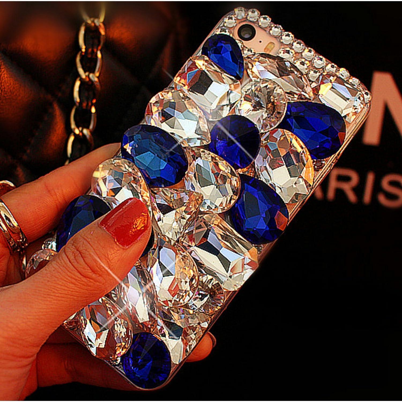 Deep blue crystal
