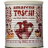 Toschi Amarena Cherries in Syrup, Black, 2.2 Pound (1kg)