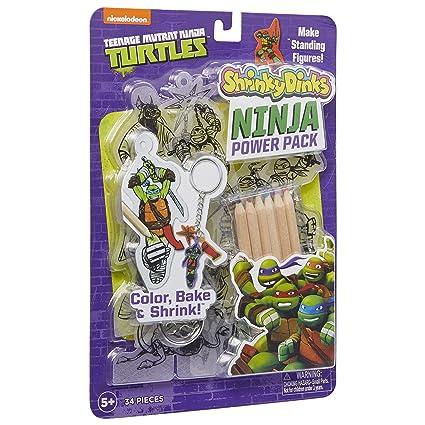 Amazon.com: Teenage Mutant Ninja Turtles Shrinky Dinks Ninja ...