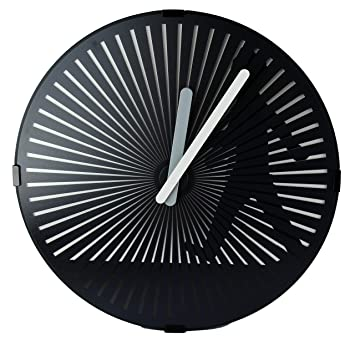 Animated Wall Clock  WALKING MAN CLOCK, Kinetic Zoetrope Animation, Silent  Non Ticking