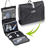 8fa865b2487 Lewis N Clark Hanging Toiletry Bag and Makeup Bag for Travel Accessories,  Shampoo, Cosmetic