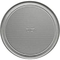 USA Pan Bakeware Aluminized Steel 12.5 Inch Pizza Pan, Set of 2 12-Inch  Pizza Pan 1090PZ