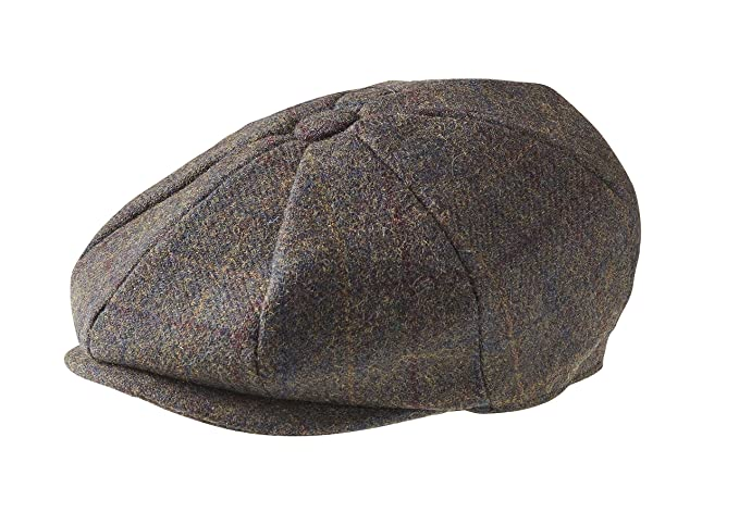 Peaky Blinders - Boina - para Hombre Marrón Brown Mountain Check Small