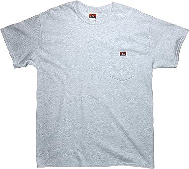 Ben Davis Classic Logo Tee Ash Grey