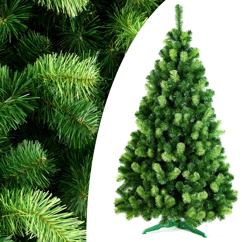 DecoKing 290 cm Künstlicher Weihnachtsbaum Tannenbaum Christbaum Tanne Daria Weihnachtsdeko