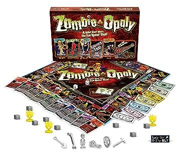 Amazon.com: Juego de mesa Zombie-opoly de Late for the Sky ...