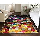 Spectrum Jive - Tapis de créateur/tapis moderne - motif abstrait - multicolore 120 x 170cm
