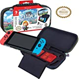 Officially Licensed Nintendo Switch The Legend of Zelda: Links Awakening Carrying Case with Adjustable Viewing Stand and Game
