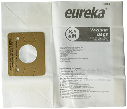 Amazon.com - Eureka EUR Style B 1700/3700 Paper Bag (Pack of ...
