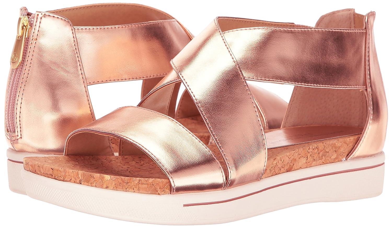 ADRIENNE VITTADINI Footwear Women's Claud Sandal B01MSZ0YKY 8 B(M) US Rose Gold