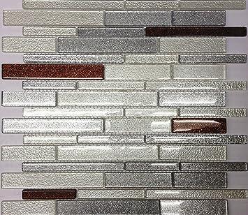 Glass Mosaic Tile Backsplash Iridescent GSD828 13x13 Bathroom U0026 Kitchen  Backsplash Art Glass Mosaic 5pcs