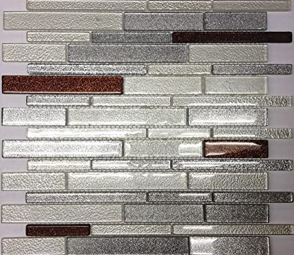 Genial Glass Mosaic Tile Backsplash Iridescent GSD828 13x13 Bathroom U0026 Kitchen  Backsplash Art Glass Mosaic 5pcs
