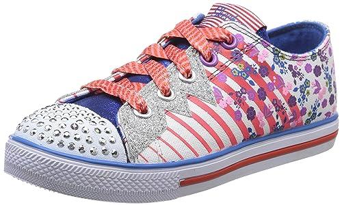 Skechers Chit Chat Dizzy Dayz - zapatilla deportiva de lona niña: Amazon.es: Zapatos y complementos