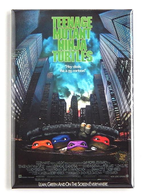 Amazon.com: Teenage Mutant Ninja Turtles Movie Poster Fridge ...