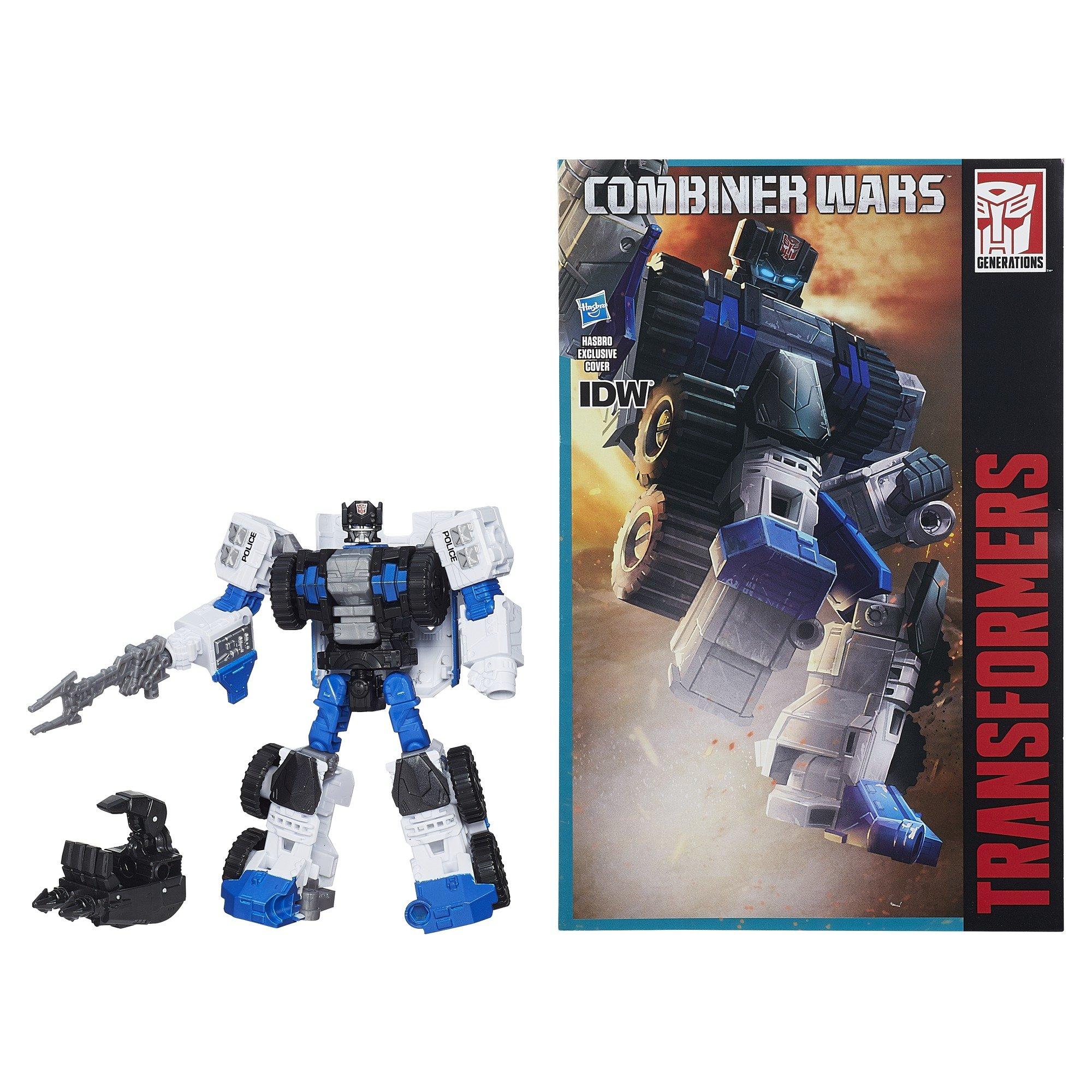 Transformers Generations Combiner Wars Deluxe Class Protectobot Rook Figure