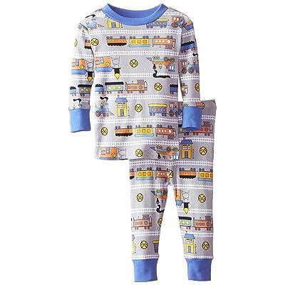 New Jammies Baby Boys' Organic Pajamas Trains