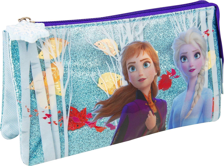 Sambro Frozen - Estuche para 2 lápices, diseño de Confeti, Multicolor: Amazon.es: Juguetes y juegos