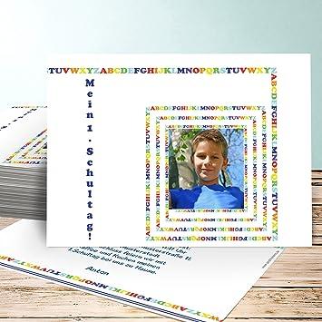 Einladungskarten Einschulung Basteln Malkasten 130 Karten