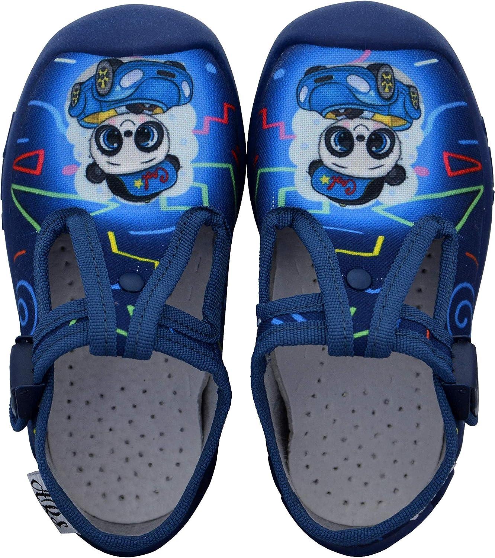Berceau ARS Chaussures pour gar/çon pr/éscolaire 1-3 Ans fix/é avec Semelles en Cuir Styles diff/érents Sandales pour Enfants Tailles 20 21 22 23 24 26