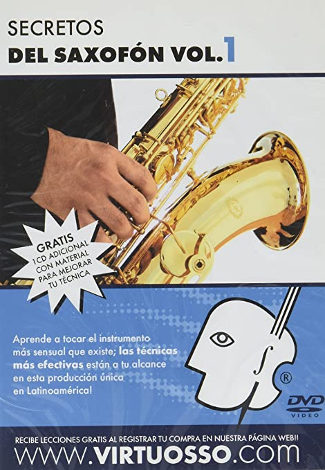 Virtuosso Saxophone Method Vol.1 (Curso De Saxofón Vol.1) SPANISH ONLY