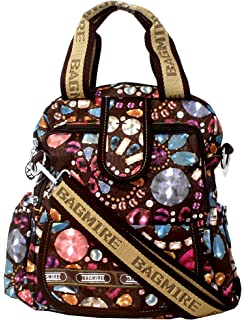 Fusine Bagmire Traveler Women s 3 in 1 Faux Leather Backpack Handbag Sling  Bag ( 8a6f3a1954cf8
