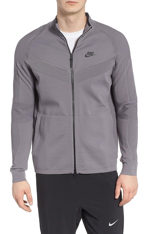 [ナイキ] メンズ ジャケットブルゾン Nike Sportswear Tech Knit Jacket [並行輸入品] B07C2KNX1Z Large