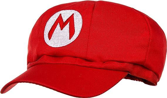 Super Mario Beanie rojo para adultos (damas y caballeros) disfraz ...