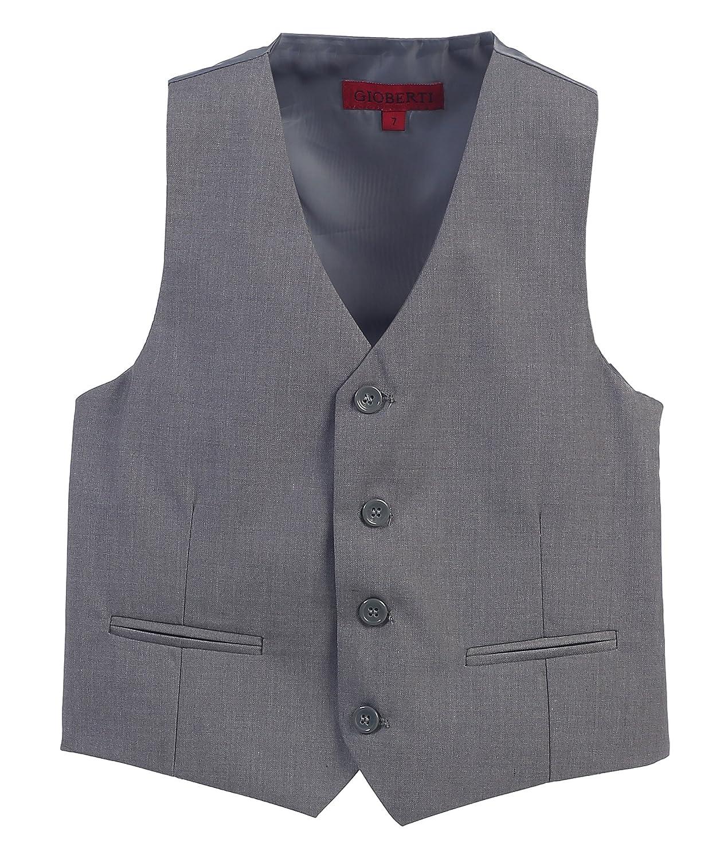 Gioberti Boy's 4 Button Formal Suit Vest China VS-85