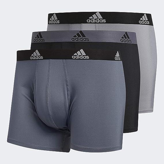 Complacer Extranjero para castigar  Adidas Performance Trunks - Ropa Interior para Hombre (3 Unidades), Color  Negro y Negro: Amazon.com.mx: Ropa, Zapatos y Accesorios