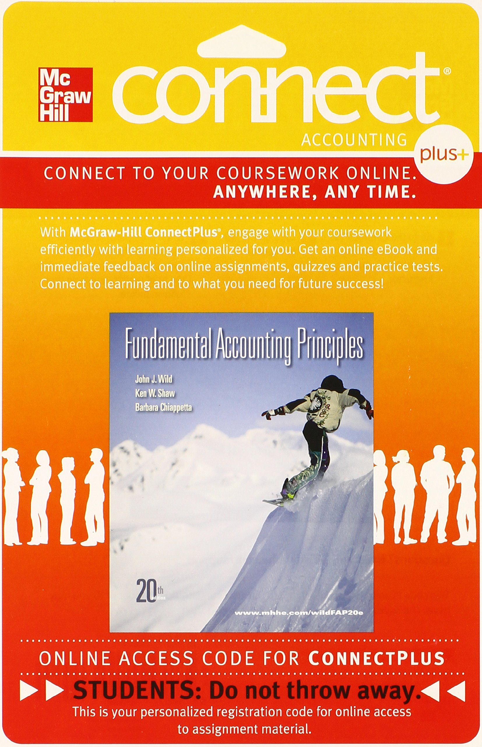 Fundamental accounting principles connect plus accounting 2 semester fundamental accounting principles connect plus accounting 2 semester access card john j wild 9780077338060 amazon books fandeluxe Images