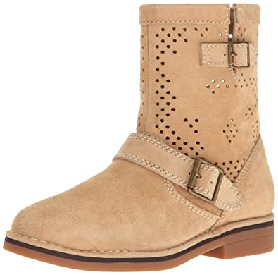 Hush Puppies Women's Aydin Catelyn Perf Boot, Light Tan Suede, ...