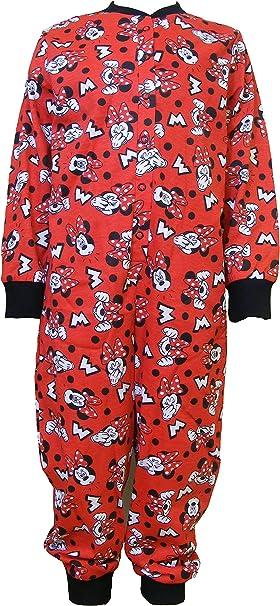 Niña Pelele, Pijama de cuerpo entero para niños, dormir Mono, Onesie, Jumpsuit, Hogar Traje, Pijama – Minnie Mouse