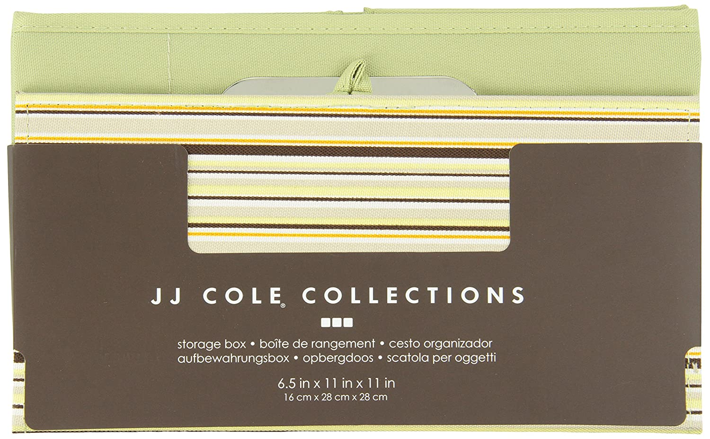 JJ Cole Heather Storage Box Pink 6.5-Inch