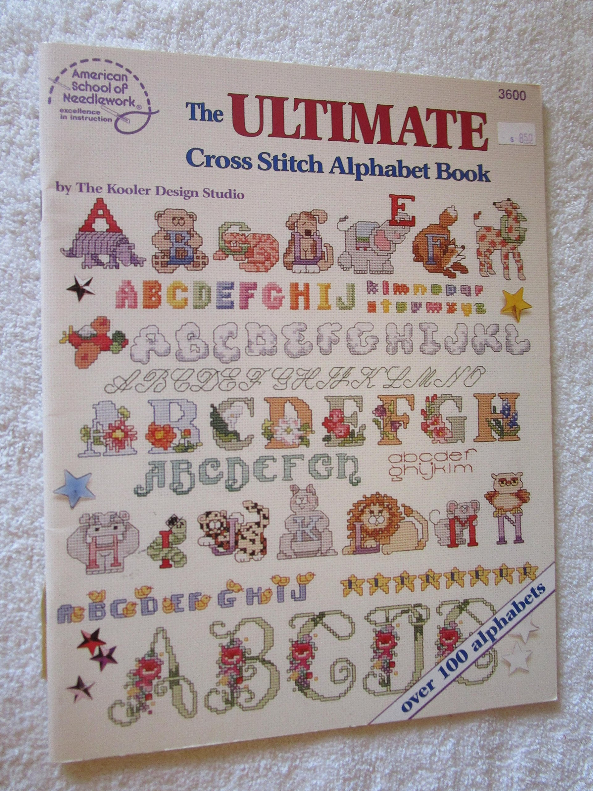 Cross Stitch Alphabet Patterns Magnificent Inspiration Design