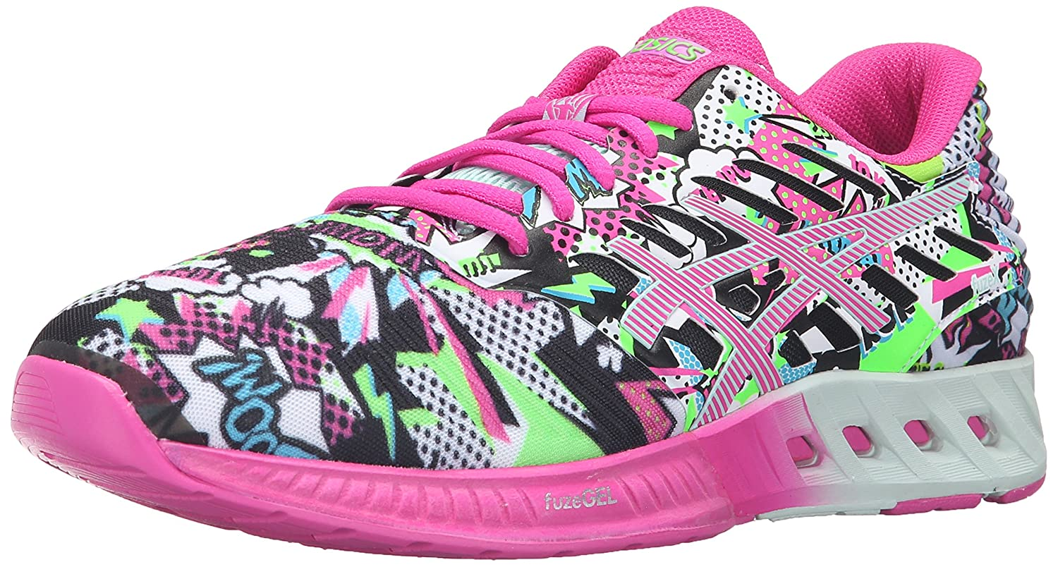 ASICS Women's fuzeX Running Shoe B017USR01Q 6.5 B(M) US|White/Pink Glow/Soothing Sea
