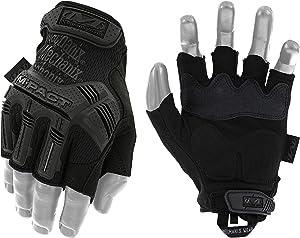 Mechanix Wear - M-Pact Fingerless Covert Tactical Gloves (Medium, Black)