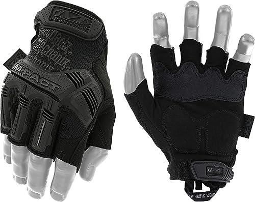 Mechanix Wear: M-Pact Covert Fingerless Tactical Work Gloves