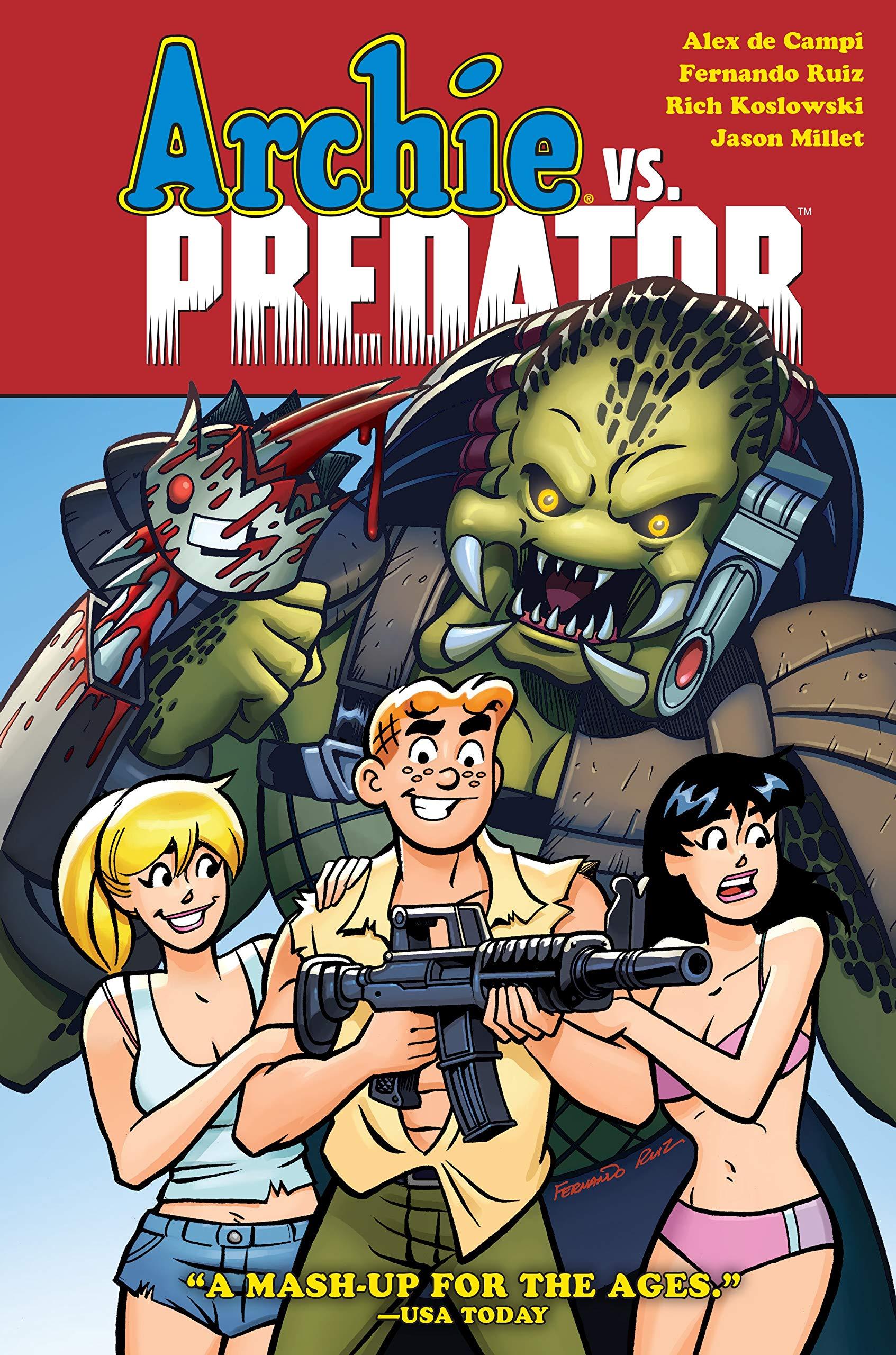 Image result for archie vs predator