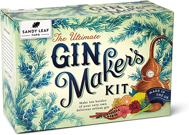 Sandy Leaf Farm Ultimate Gin Makers Kit Make Ten Big Bottles Of Your Own Gin Flavours Including Classic Citrus Chocolate Orange Pink Christmas