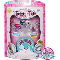SpinMaster Twisty Petz Figuras Coleccionables Three, Pony/Poodle/Cat2, Pack Number 2