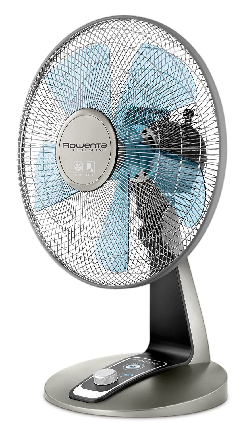 Rowenta Vu2531 Turbo Silence Oscillating 12 Inch Table Fan