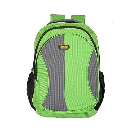 Newera Polyester Waterproof Green School Bag (40Ltrs )  school bags for boys 2efa3221ef581