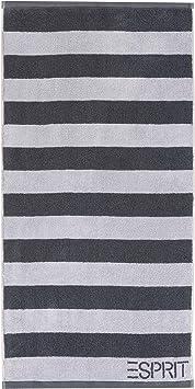 Esprit Handtuch Block Stripes3 silver 50 x 100