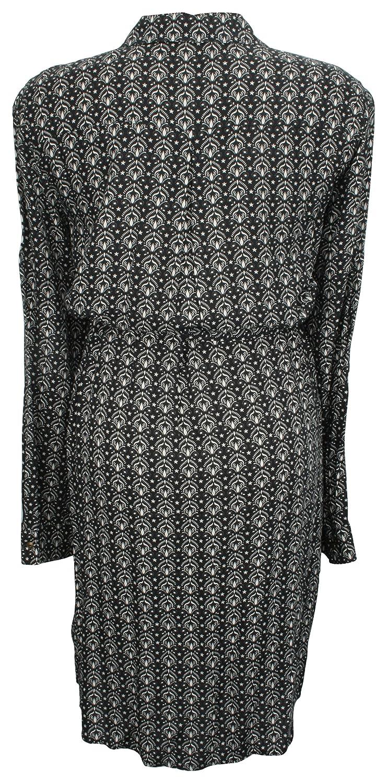 Ex-Store Maternity Printed Shirt Dress Black