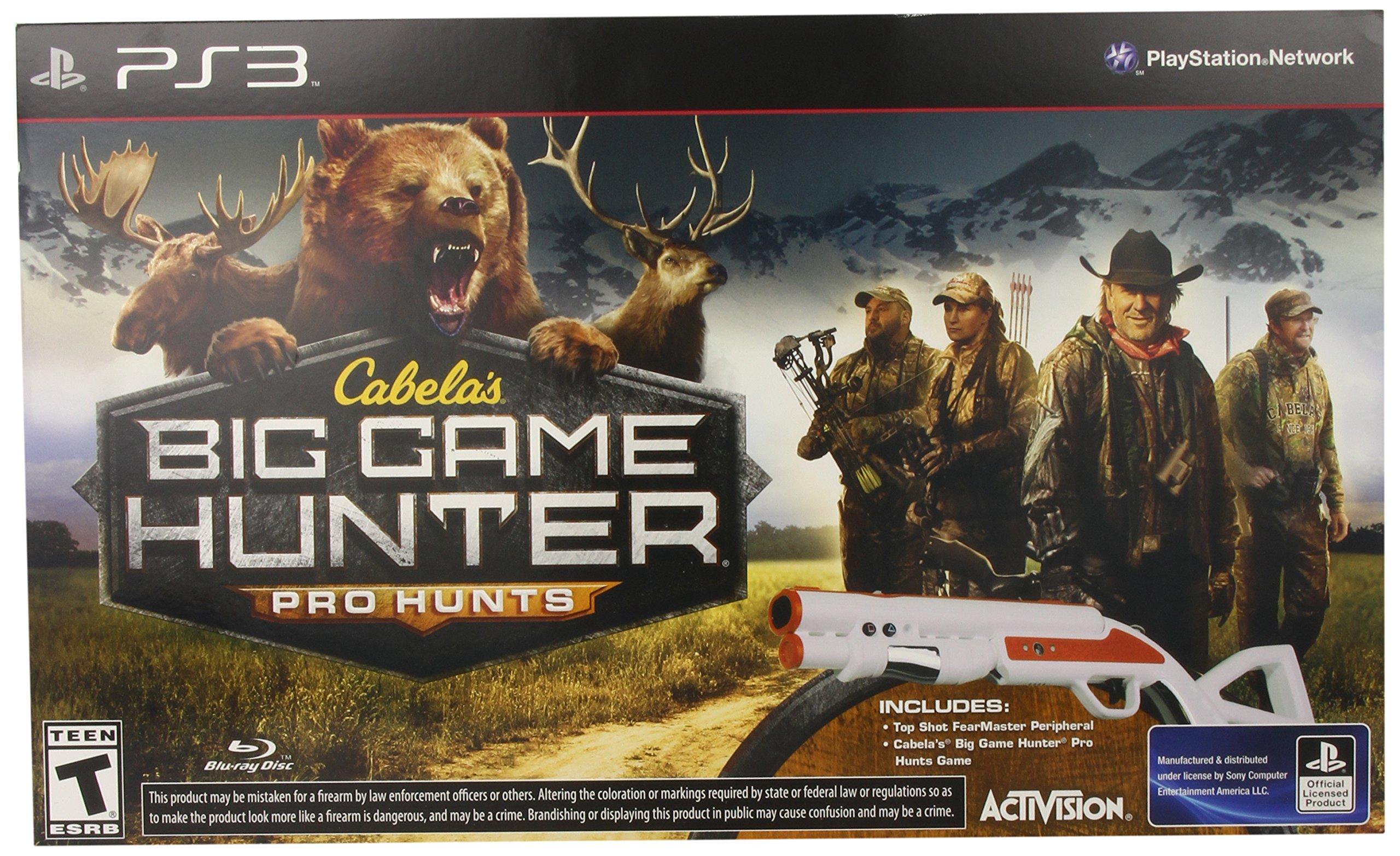 Cabela's: Big Game Hunter Pro Hunts with Gun - PlayStation 3 by Activision (Image #1)