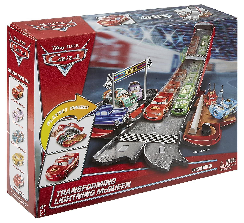 Mattel Disney Cars dvf38–Set da Gioco Trasformabile con Saetta McQueen Mattel GmbH