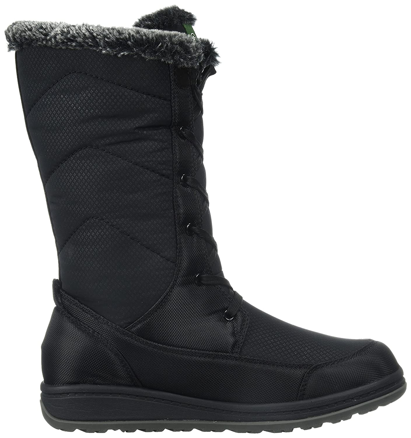Kamik Women's Quincy Snow Boot B01N0W0ZL6 6 D US|Black