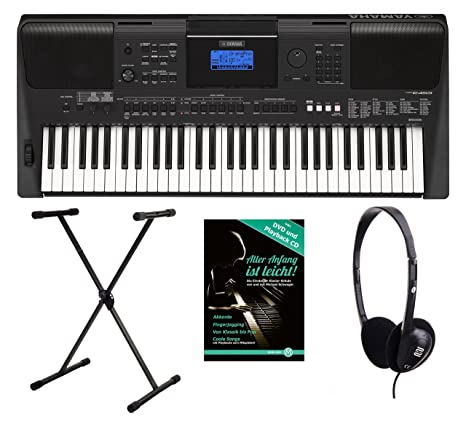 Yamaha PSR e453 Keyboard (758 alta calidad Top de sonidos, 220 de alta calidad Styles, ...