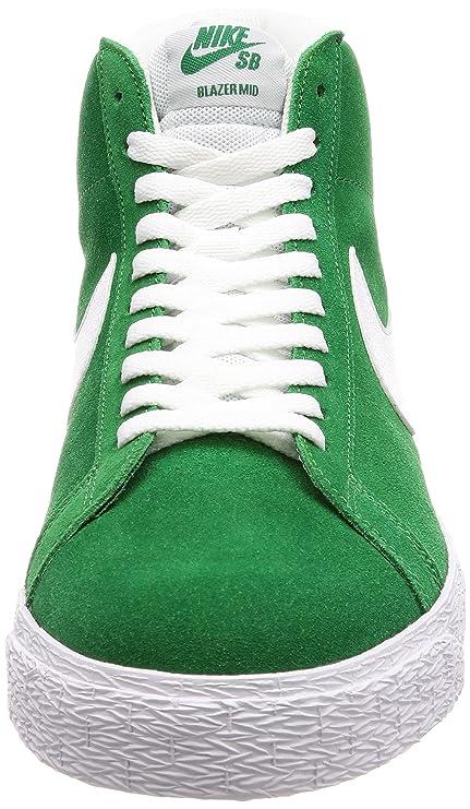 competitive price f91d0 ba4ae Buy Nike Men's SB Zoom Blazer Mid, Pine Green/White, 7.5 M ...